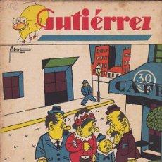 Tebeos: COMIC SEMANARIO GUTIERREZ Nº 152. Lote 33077551