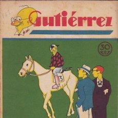 Tebeos: COMIC SEMANARIO GUTIERREZ Nº 151. Lote 33077563
