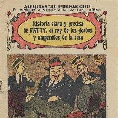 Tebeos: ALELUYA DE PULGARCITO (HISTORIA CLARA Y PRECISA…). Lote 33281554