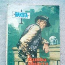 Tebeos: DAKOTA / TUMBA ABIERTA / UN SHERIFF ASTUTO/ PRESIDENTE 1969 COMIC. Lote 194534840