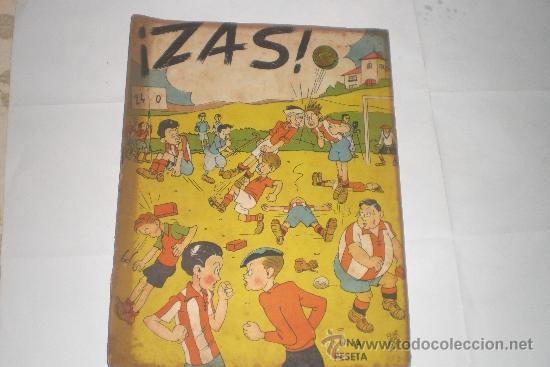 ¡ZAS! Nº 8. UNA PESETA (Tebeos y Comics - Tebeos Clásicos (Hasta 1.939))