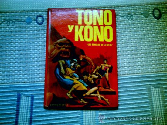 """TONO Y KONO """"LOS GEMELOS DE LA SELVA"""" (EDITORIAL FHER, CARTONE, COLECCION PUBLIGAR Nº 12) (Tebeos y Comics - Tebeos Otras Editoriales Clásicas)"""