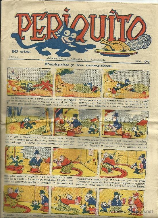 PERIQUITO Nº 97 (Tebeos y Comics - Tebeos Clásicos (Hasta 1.939))