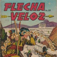 Tebeos: FLECHA VELOZ N. 28, EDITORA DE PERIODICOS LA PRENSA (MEJICO). Lote 33885816