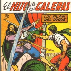 Tebeos: TEBEOS-COMICS GOYO - HIJO DE LAS GALERAS - GARGA - 1950 - MANUEL GAGO - Nº 15 *BB99. Lote 34043464