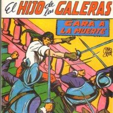 Tebeos: TEBEOS-COMICS GOYO - HIJO DE LAS GALERAS - GARGA - 1950 - MANUEL GAGO - Nº 14 *BB99. Lote 34043475