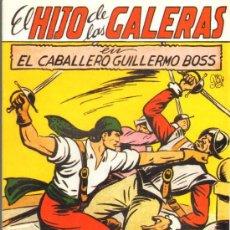 Tebeos: TEBEOS-COMICS GOYO - HIJO DE LAS GALERAS - GARGA - 1950 - MANUEL GAGO - Nº 11 *BB99. Lote 34043510