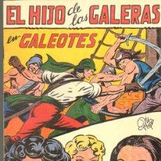 Tebeos: TEBEOS-COMICS GOYO - HIJO DE LAS GALERAS - GARGA - 1950 - MANUEL GAGO - Nº 10 *BB99. Lote 34043528