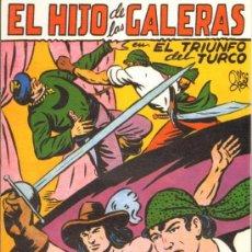 Tebeos: TEBEOS-COMICS GOYO - HIJO DE LAS GALERAS - GARGA - 1950 - MANUEL GAGO - Nº 9 *BB99. Lote 34043538