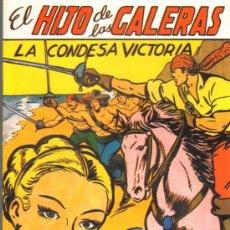Tebeos: TEBEOS-COMICS GOYO - HIJO DE LAS GALERAS - GARGA - 1950 - MANUEL GAGO - Nº 6 *AA99. Lote 34043560