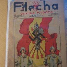 Tebeos: FET Y JONS FLECHA Nº 98 ULTIMO SIN CATALOGAR Y PELAYOS Nº 100, AMBAS DEL 20 NOVIEMBRE 1938. Lote 180075036