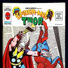 Tebeos: SUPER HEROES VOL 2 Nº 6 - SPIDERMAN Y THOR - VERTICE 1973 - ESTADO IMPECABLE. Lote 34579840
