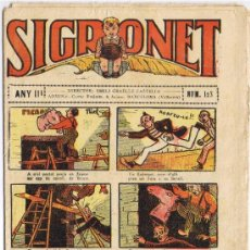 Tebeos: SIGRONET - ANY III - Nº 123. Lote 34820132