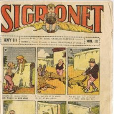 Tebeos: SIGRONET - ANY III - Nº 117. Lote 34820139