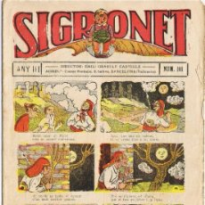 Tebeos: SIGRONET - ANY III - Nº 101. Lote 34820153