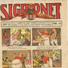Tebeos: SIGRONET - ANY III - Nº 103. Lote 34820163