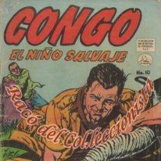 Tebeos: CONGO , N. 10 EDITORA DE PERIODICOS LA PRENSA, MÉJICO, 1957. Lote 34846929