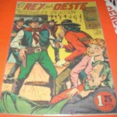 Tebeos: EL REY DEL OESTE Nº 13 - GARGA 1950 -- ORIGINAL- LEER TODO. Lote 34913200