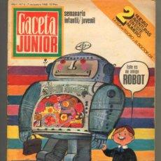 Tebeos: TEBEOS-COMICS GOYO - GACETA JUNIOR - Nº 4 - 1ª EDICION - ED. UNIVERSO *AA99. Lote 34946343