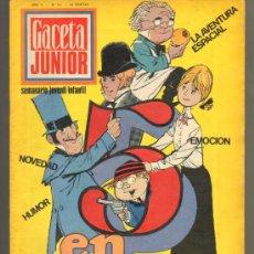 Tebeos: TEBEOS-COMICS GOYO - GACETA JUNIOR - Nº 14 - 1ª EDICION - ED. UNIVERSO ***CC99. Lote 34946450
