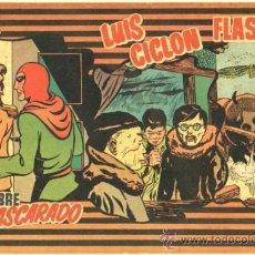 Tebeos: EDICIONES MAS Nº 9, LUIS CICLON, FLASH GORDON, HOMBRE ENMASCARADO. Lote 35017291