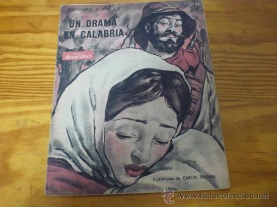 TEBEOS-COMICS GOYO - AVENTURAS COLECCION - UN DRAMA EN CALABRIA - 1943 *UU99 (Tebeos y Comics - Tebeos Otras Editoriales Clásicas)