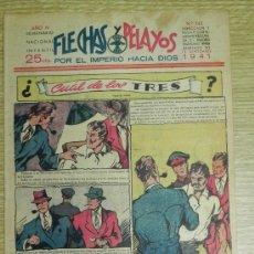 Tebeos: FLECHAS Y PELAYOS ( SEMANARIO NACIONAL INFANTIL ) AÑO 1941 - Nº 145 - HISTORIA DE CUENTOS DE MARI PE. Lote 35185792