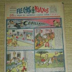Tebeos: FLECHAS Y PELAYOS ( SEMANARIO NACIONAL INFANTIL ) AÑO 1941 - Nº 125 - HISTORIA DE CUENTOS DE MARI PE. Lote 35185918