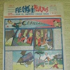 Tebeos: FLECHAS Y PELAYOS ( SEMANARIO NACIONAL INFANTIL ) AÑO 1941 - Nº 118 - HISTORIA DE CUENTOS DE MARI PE. Lote 35186424