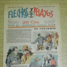 Tebeos: FLECHAS Y PELAYOS ( SEMANARIO NACIONAL INFANTIL ) AÑO 1939 - Nº 54 - HISTORIA DE CUENTOS DE MARI PEP. Lote 35186757