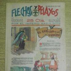 Tebeos: FLECHAS Y PELAYOS ( SEMANARIO NACIONAL INFANTIL ) AÑO 1939 - Nº 34 - HISTORIA DE CUENTOS DE MARI PEP. Lote 35186956