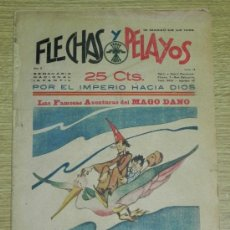 Tebeos: FLECHAS Y PELAYOS ( SEMANARIO NACIONAL INFANTIL ) AÑO 1939 - Nº 14 - HISTORIA DE CUENTOS DE MARI PE. Lote 35225686