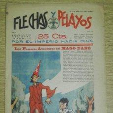 Tebeos: FLECHAS Y PELAYOS ( SEMANARIO NACIONAL INFANTIL ) AÑO 1939 - Nº 22, HISTORIA DE CUENTOS DE MARI PEPA. Lote 35226030