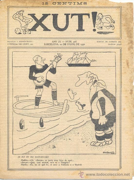 XUT Nº 406 (22-07-1930) (Tebeos y Comics - Tebeos Clásicos (Hasta 1.939))