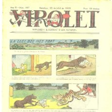 Tebeos: VIROLET Nº 447 (26-07-1930) (CATALÁN) . Lote 35447661
