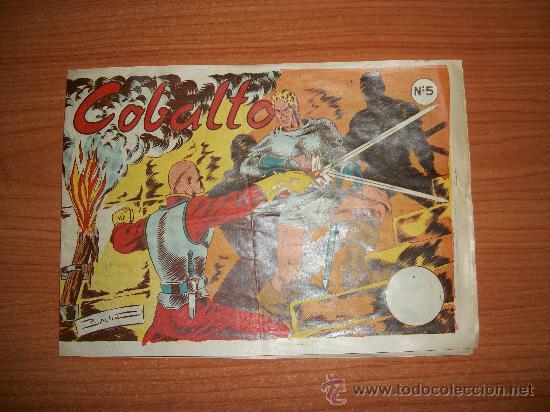 COBALTO Nº 5 POR BADIA EDITORIAL SIMBOLO ORIGINAL (Tebeos y Comics - Tebeos Otras Editoriales Clásicas)