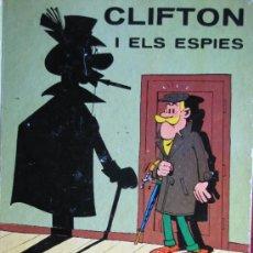Tebeos: CLIFTON I ELS ESPIAS. L´OCELL DE PAPER. JAIMES LIBROS. 1969.. Lote 35536234