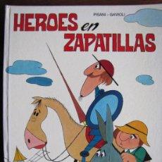 Tebeos: HEROES EN ZAPATILLAS. PISANI-GAVIOLI. EDICIONES PAULINAS. 1974.. Lote 35536940