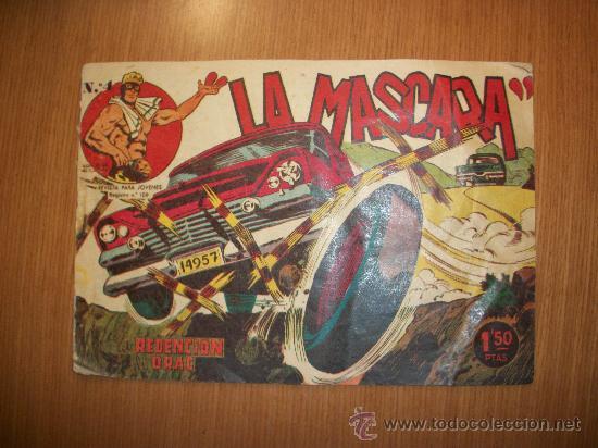 JIM DALE LA MASCARA Nº 4 EDITORIAL CREO 1961 ORIGINAL (Tebeos y Comics - Tebeos Otras Editoriales Clásicas)
