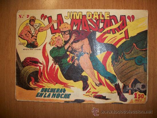JIM DALE LA MASCARA Nº 7 EDITORIAL CREO (Tebeos y Comics - Tebeos Otras Editoriales Clásicas)