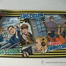 Tebeos: PUBLICACIONES MAS Nº 6 - FLASH GORDON – LUIS CICLÓN – EL HOMBRE ENMASCARADO. Lote 36240911