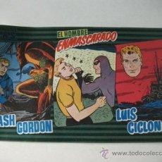 Tebeos: PUBLICACIONES MAS Nº 8 - FLASH GORDON – LUIS CICLÓN – EL HOMBRE ENMASCARADO. Lote 36240975