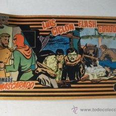 Tebeos: PUBLICACIONES MAS Nº 9 - FLASH GORDON – LUIS CICLÓN – EL HOMBRE ENMASCARADO. Lote 36241140