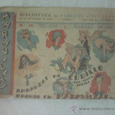 Tebeos: BIBLIOTECA DE FLECHAS Y PELAYOS Nº 19 . Lote 36632100