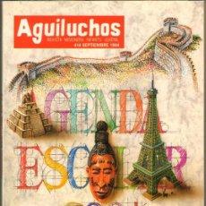 Tebeos: TEBEOS-COMICS GOYO - AGUILUCHOS - Nº 414 - REVISTA CON HISTORIETAS - 68 PAGS. *AA99. Lote 39497947