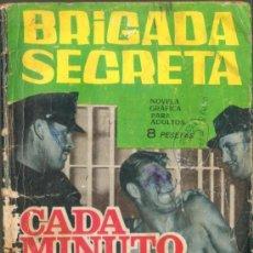 Tebeos: TEBEOS-COMICS GOYO - BRIGADA SECRETA Nº 131 - CADA MINUTO CUENTA *BB99. Lote 39498043