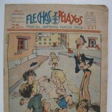 Tebeos: FLECHAS Y PELAYOS - Nº 152 - ORIGINAL - AÑO 1941.. Lote 37106047