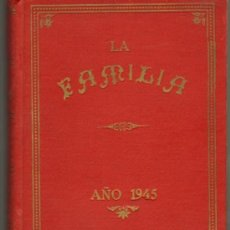 Tebeos: TEBEOS-COMICS GOYO - LA FAMILIA -TOMO EDITORIAL 1945 -REVISTA NOVELA CON HISTORIETAS * OFERTA *BB99. Lote 37152515