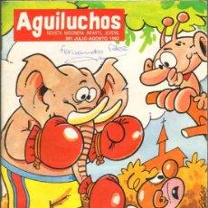 Tebeos: TEBEOS-COMICS GOYO - AGUILUCHOS - Nº 391 - REVISTA CON HISTORIETAS - 68 PAGS. *AA99. Lote 39497358