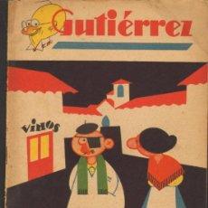 Tebeos: TEBEOS-COMICS GOYO - GUTIERREZ - Nº 150 - 1ª EDICION 1929 *UU99. Lote 39497571